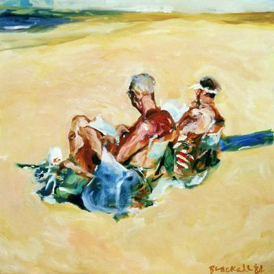 Sidney Beach Bums, 1984-Ted Blackall-Giclee Print