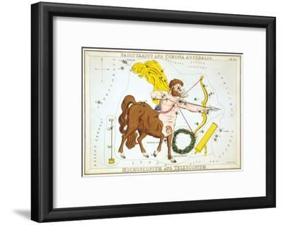 Urania's Mirror, Sagittarius, 1825