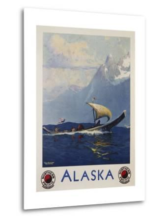 Alaska - Northern Pacific Railway Travel Poster