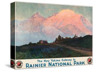 The New Yakima Gateway to Rainier National Park Poster, Circa 1925