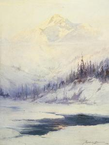 Winter Morning, Mount Mckinley, Alaska by Sidney Laurence