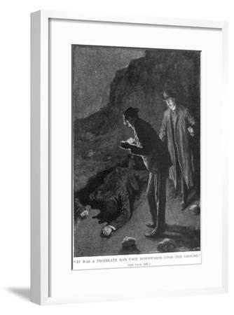 The Hound of the Baskervilles Holmes and Watson Discover 'A Prostrate Man