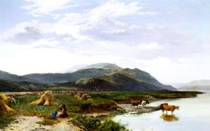 Lake Bala, North Wales by Sidney Richard Percy