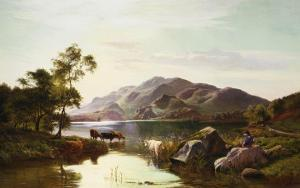 Loch Katrine by Sidney Richard Percy