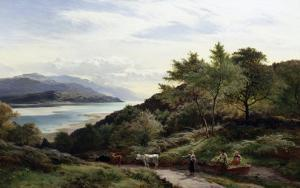 The Mawddarn Valley and Estuary, North Wales by Sidney Richard Percy