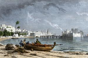 Sidon, a Chief Seaport of Ancient Phoenicia on the Mediterranean