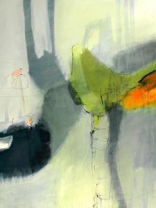 Green Bird by Sidsel Brix