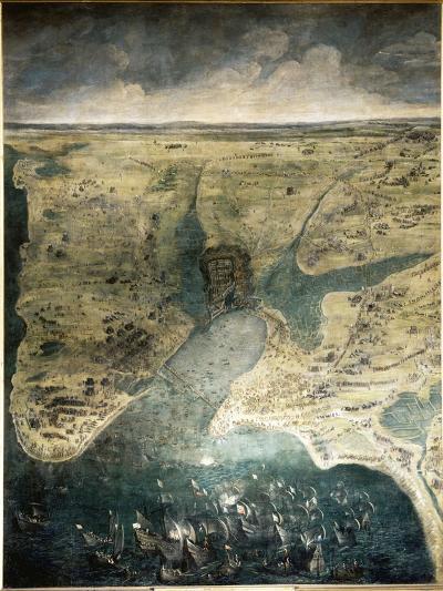 Siège de la Rochelle du 10 août 1627 au 28 octobre 1628-Jacques Callot-Giclee Print