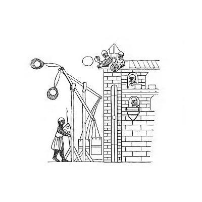 Siege Machine, C1260-Henry Shaw-Giclee Print