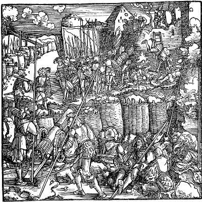 Siege of a Fortress, 1532--Giclee Print