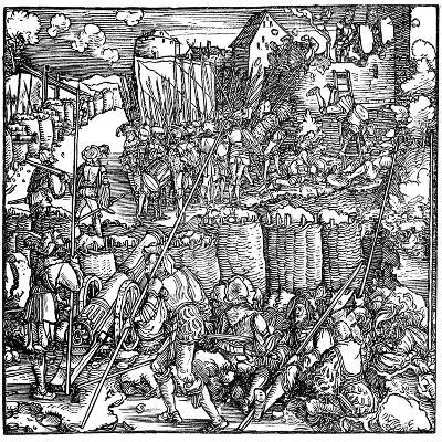 Siege of a Fortress, 1532-Hans Holbein the Younger-Giclee Print