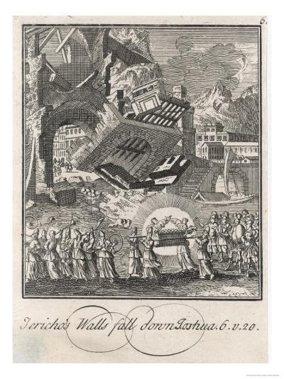 Siege of Jericho--Giclee Print
