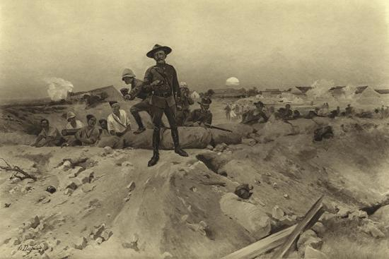 Siege of Mafeking, 1900-Henri-Louis Dupray-Giclee Print