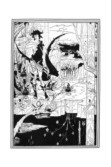 Siegfried-Aubrey Beardsley-Giclee Print