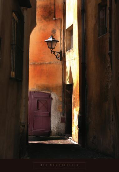 Siena Alley II-Jim Chamberlain-Art Print