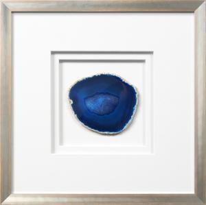 Siena Framed Agate - Blue