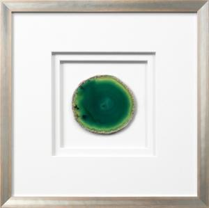 Siena Framed Agate - Green