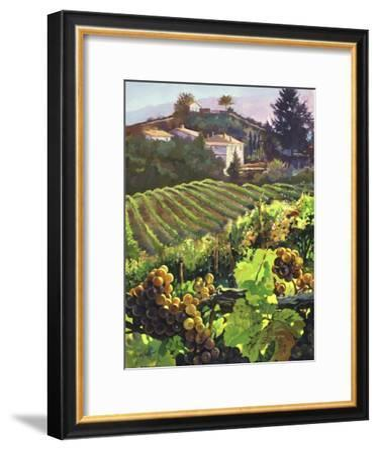 Siena Harvest-Clif Hadfield-Framed Art Print