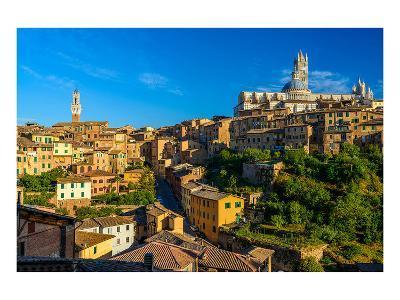 Siena Panorama Tuscany Italy--Art Print