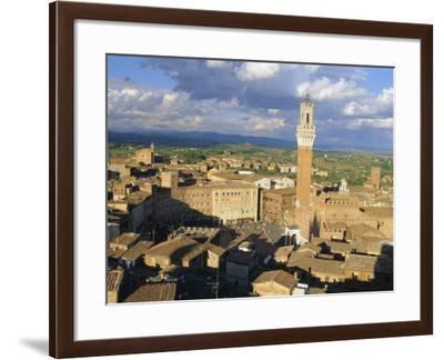 Siena, Tuscany, Italy-Bruno Morandi-Framed Photographic Print