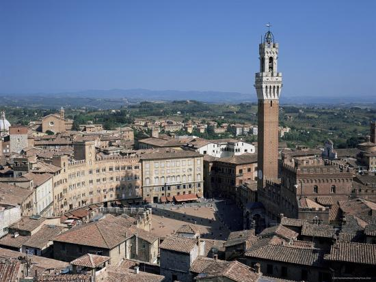 Siena, Unesco World Heritage Site, Tuscany, Italy-Roy Rainford-Photographic Print