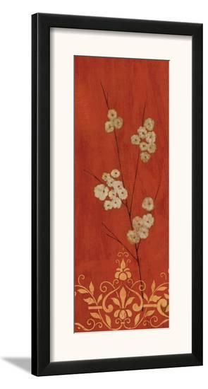 Sienna Flowers II-Fernando Leal-Framed Art Print