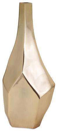 Sienna Gold Vase - Large