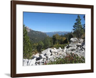Sierra Nevada Mountains 1-NaxArt-Framed Art Print
