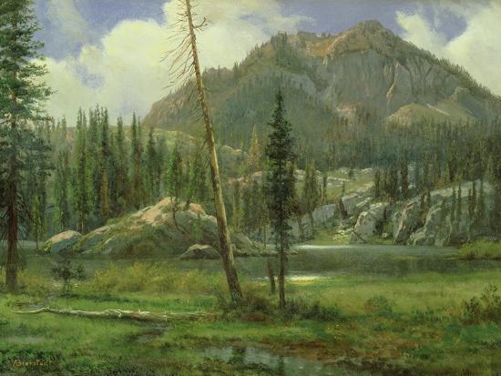 Sierra Nevada Mountains-Albert Bierstadt-Giclee Print