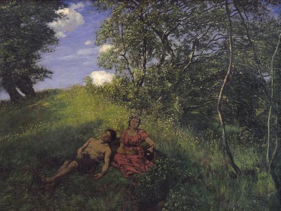 Siesta, 1889-Hans Thoma-Giclee Print