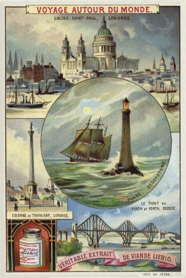 Sights of Great Britain--Giclee Print