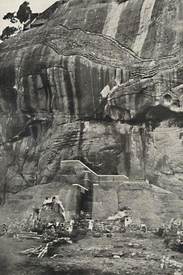 Sigiri, Aufstiegseite im Norden-Unknown-Photographic Print