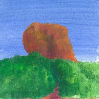 Sigiriya Rock-Lincoln Seligman-Giclee Print