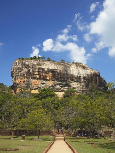 Sigiriya, UNESCO World Heritage Site, North Central Province, Sri Lanka, Asia-Ian Trower-Photographic Print