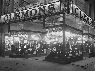 Sign and Storefront for Clemons the Tailor, New York City, January 6, 1917-William Davis Hassler-Photographic Print