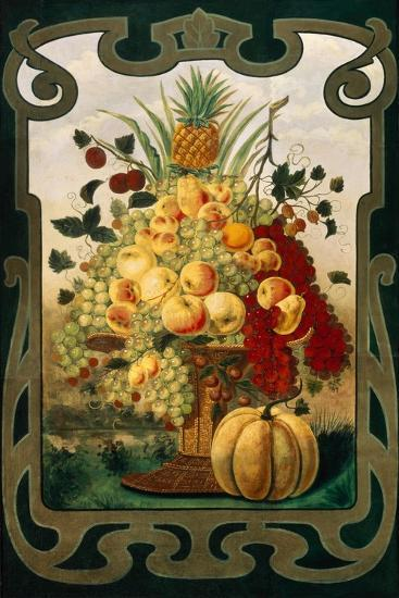 Sign Board for Fruit Shop, Early 20th C--Giclee Print