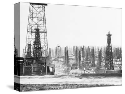 Signal Hill Oil Derricks