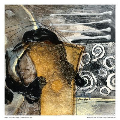 Signe De Terre 3 (Détail 1)-Sylvie Cloutier-Art Print