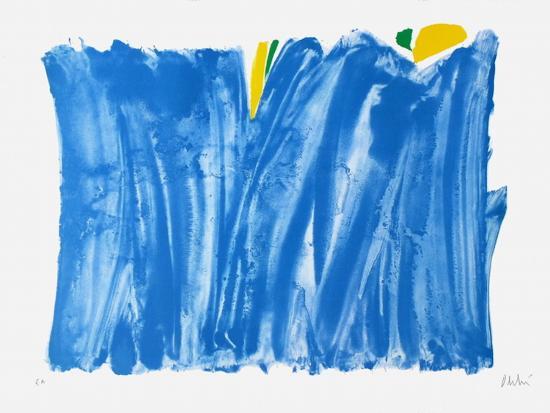 Signe paysage bleu-Olivier Debre-Premium Edition