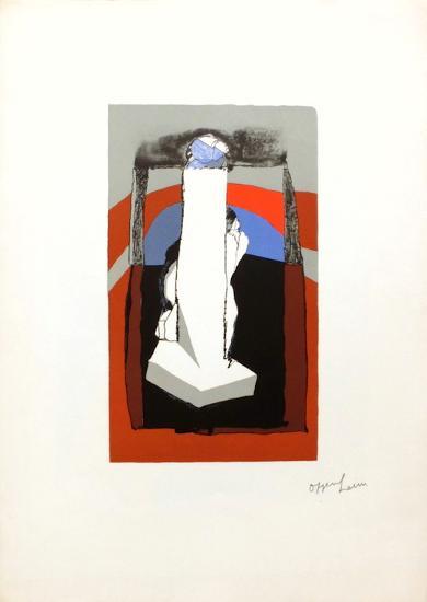 Signe phallique-Dennis Oppenheim-Limited Edition