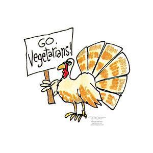 Go Vegetarians! by Signe Wilkinson