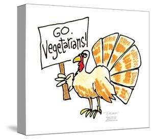 Go Vegetarians! by Signe Wilkinson