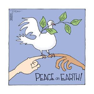 Peace on Earth! by Signe Wilkinson