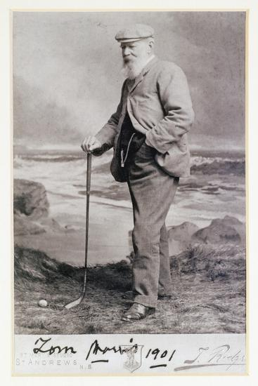 Signed photograph of Tom Morris, British, 1901-Unknown-Giclee Print