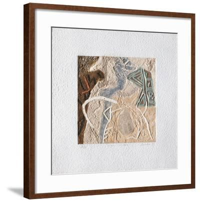 Signes Convexes-Pierre Duclou-Framed Limited Edition