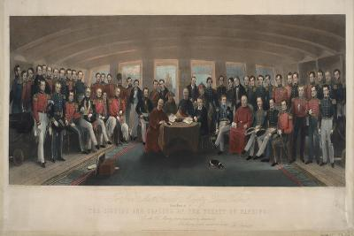 Signing and Sealing of the Treaty of Nanking, 1846-John Platt-Giclee Print