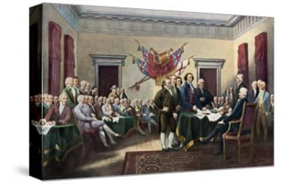 Signing the Declaration of Independence, July 4, 1776