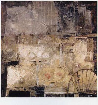 Signos del Espacio II-Eduardo Sales E^-Art Print