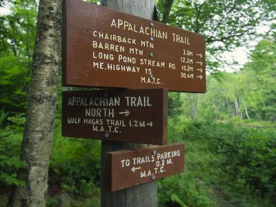 Signs Along the Appalachian Trail-Michael Melford-Photographic Print
