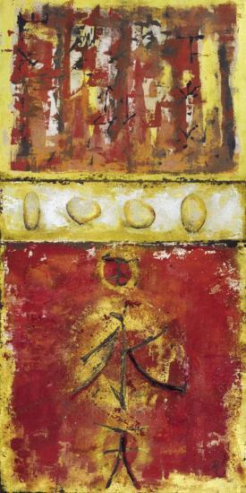 Signs and Stones-Berit Riem-Art Print
